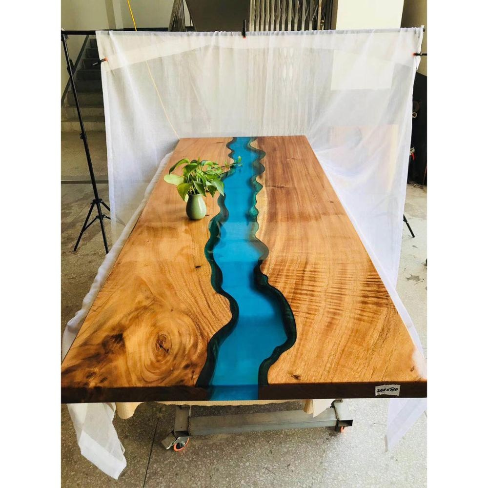 Luxury-dining-table-solid-wood-resin-table